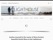 Tablet Preview of lighthousemotel.ca